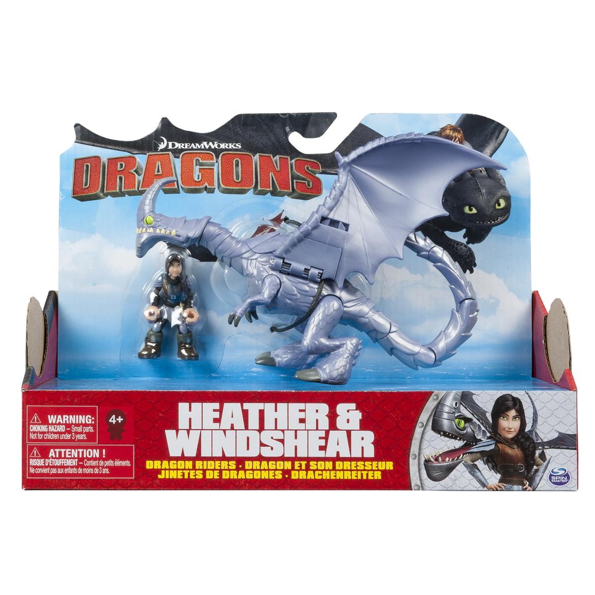 Dragon Cu Calaret Heather Si Windshear