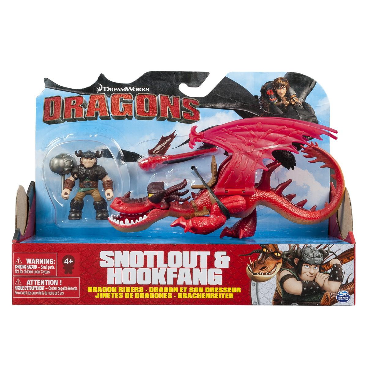 Dragon Cu Calaret Snotloat Si Hookfang