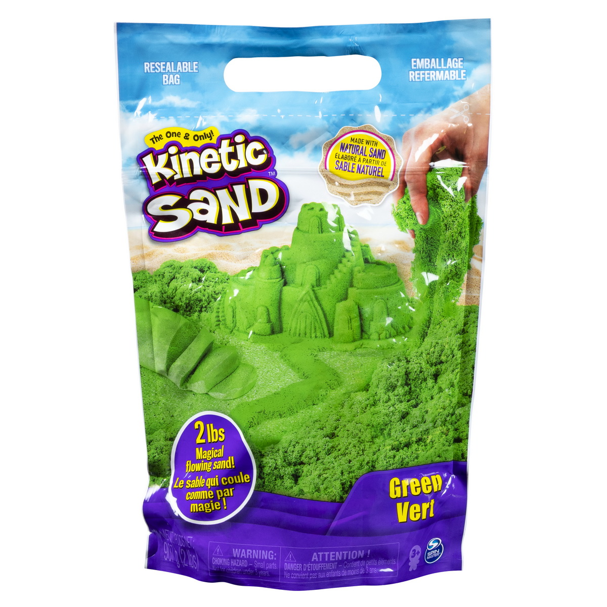 Kinetic Sand 900grame Verde