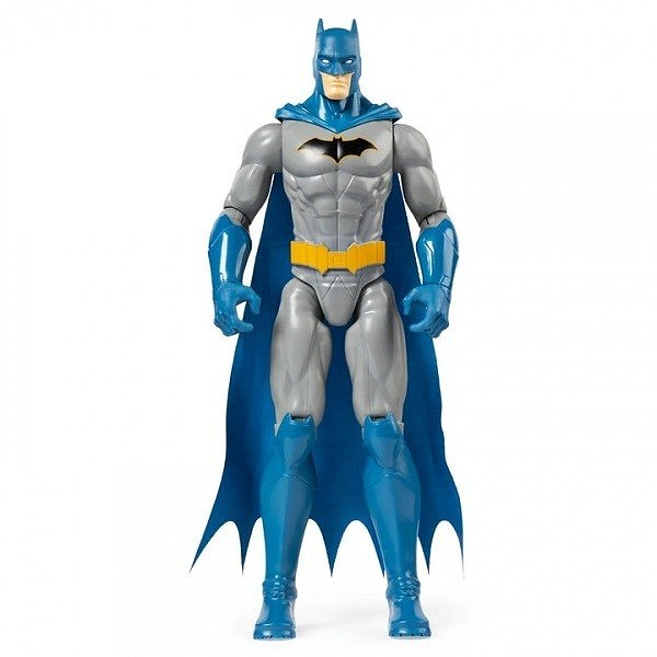 Batman Figurina 31cm Cu 11 Puncte De Articulatie In Costum Albastru