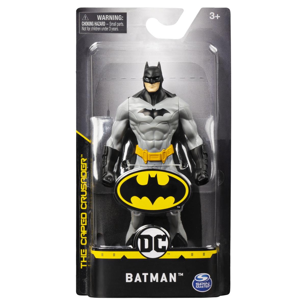 Batman 15cm Costum Gri Deschis
