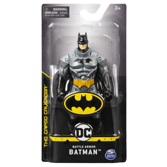 Figurina Batman 15cm Costum Gri Inchis