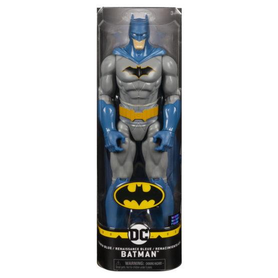 Figurina Batman 30cm Cu Capa Albastra