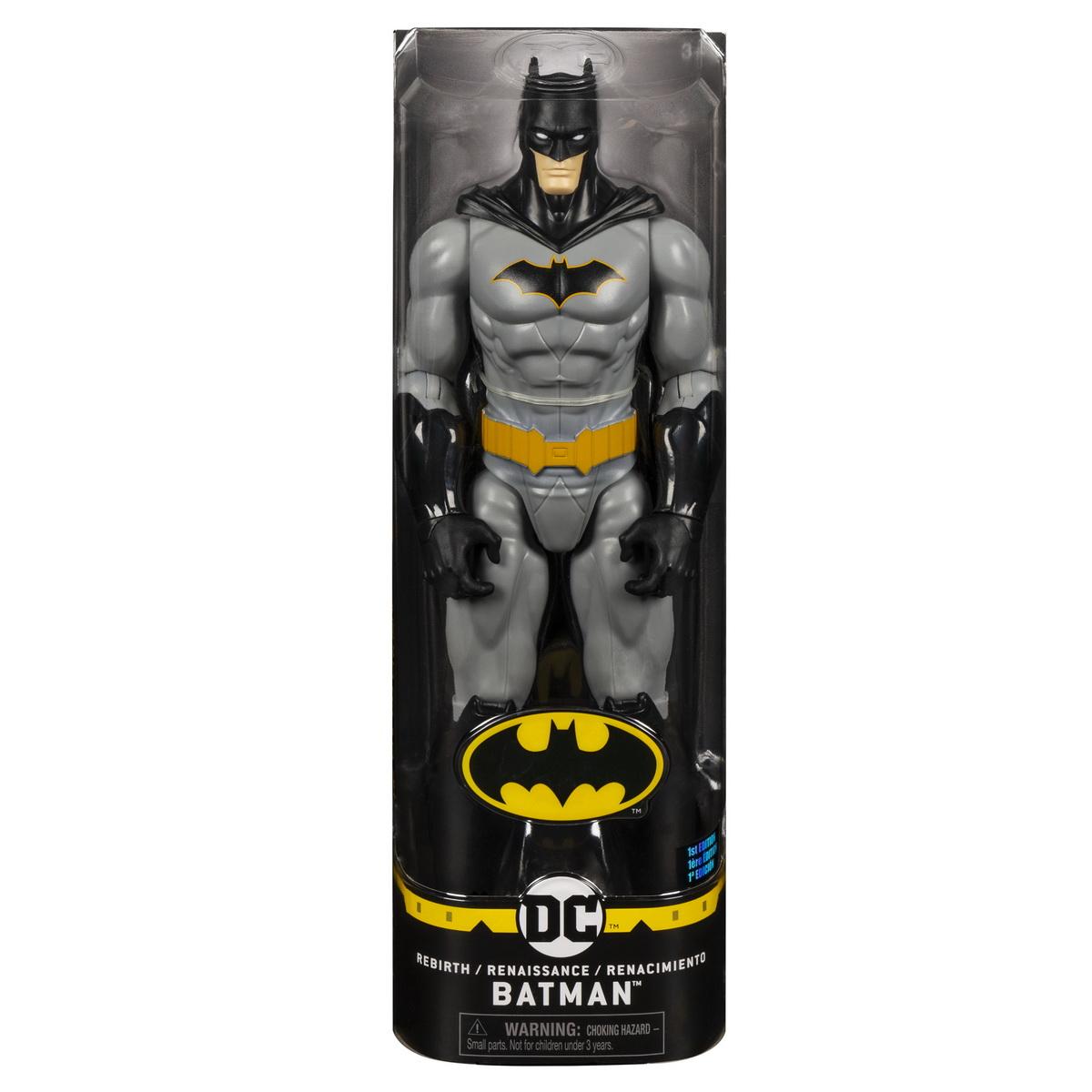 Figurina Batman 30cm Cu Capa Neagra