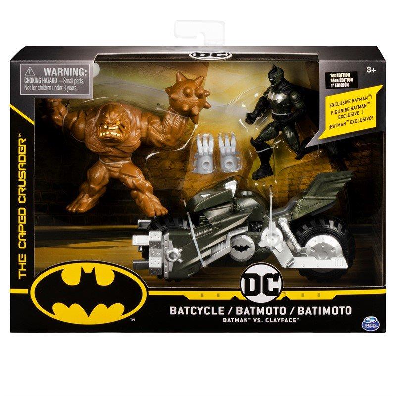 Batman Set Motocicleta Cu 2 Figurine Incluse