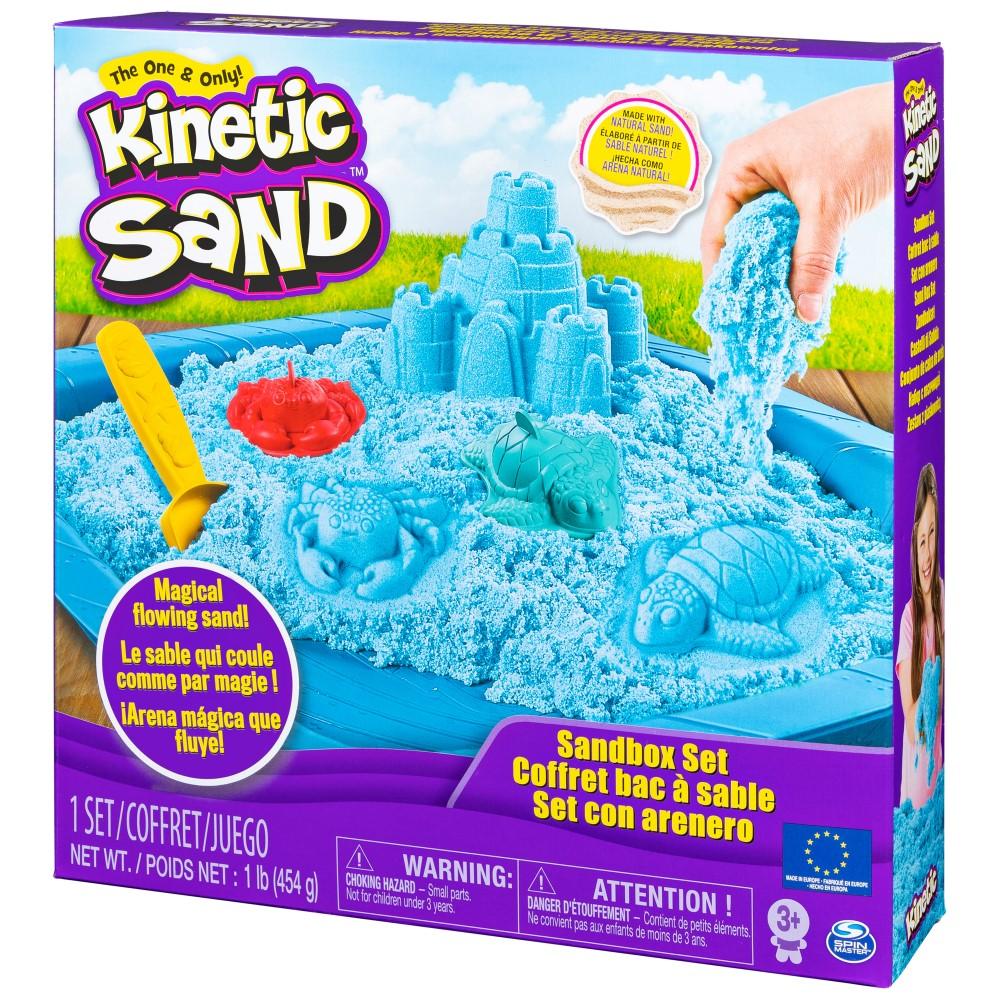 Kinetic Sand Set Complet Albastru