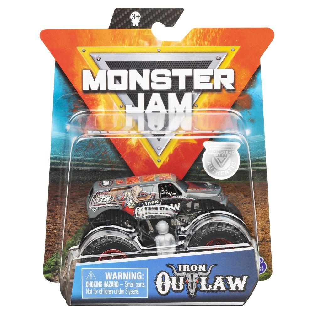 Monster Jam Metalice Scara 1 La 64 Iron Outlaw