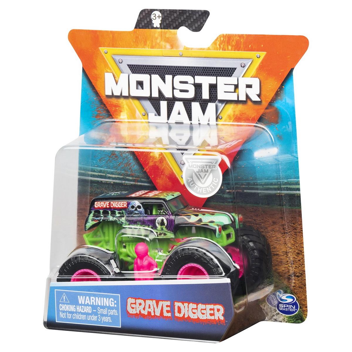 Monster Jam Metalice Scara 1 La 64 Grave Digger