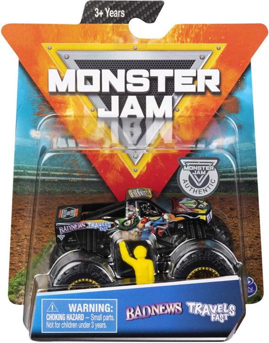 Monster Jam Metalice Scara 1 La 64 Badnews