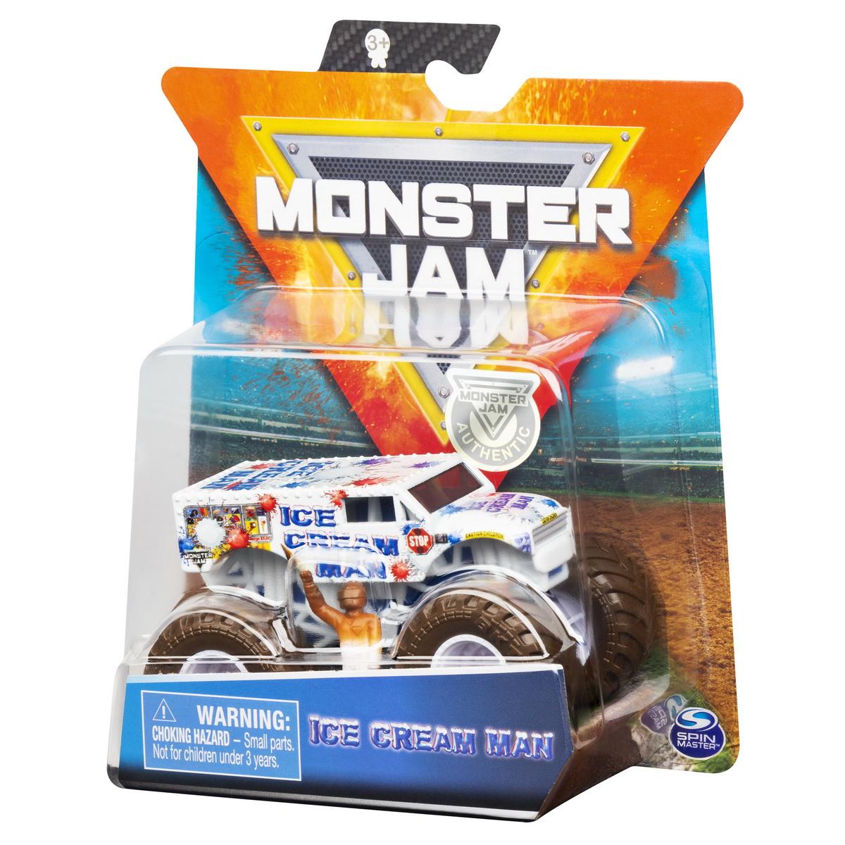 Monster Jam Metalice Scara 1 La 64 Icecream Mate