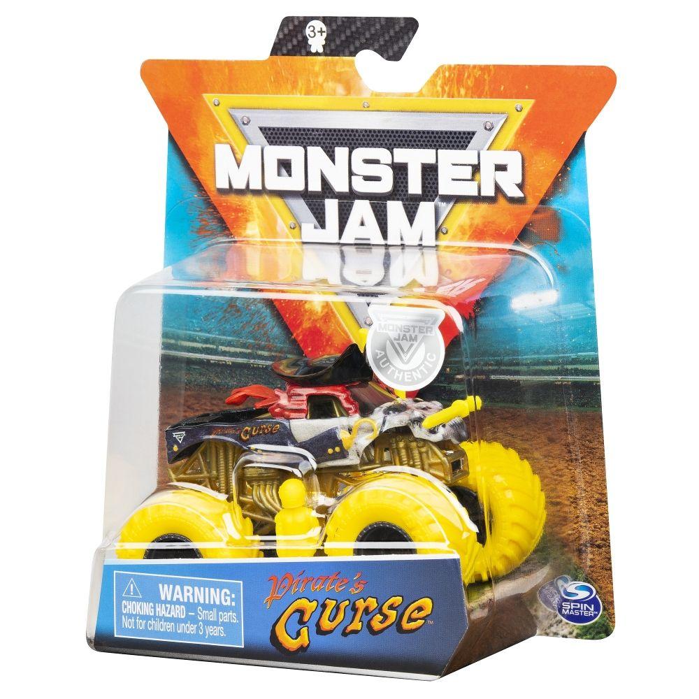 Monster Jam Metalice Scara 1 La 64 Blestemul Piratului
