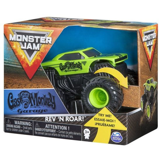 Monster Jam Metalice Seria Roar Scara 1 La 43 Gas Monkey