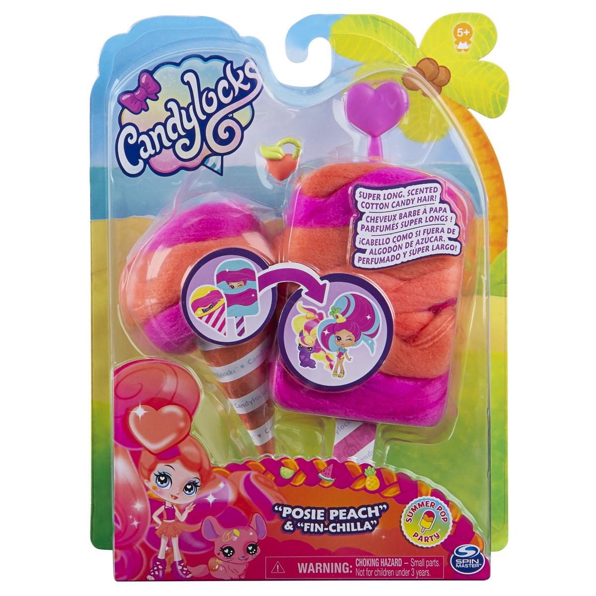 Candy Locks Papusa Si Animalut Misterioase Si Parfumate Posie Peach