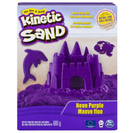 Kinetic Sand Deluxe Culori Mov Neon 680grame