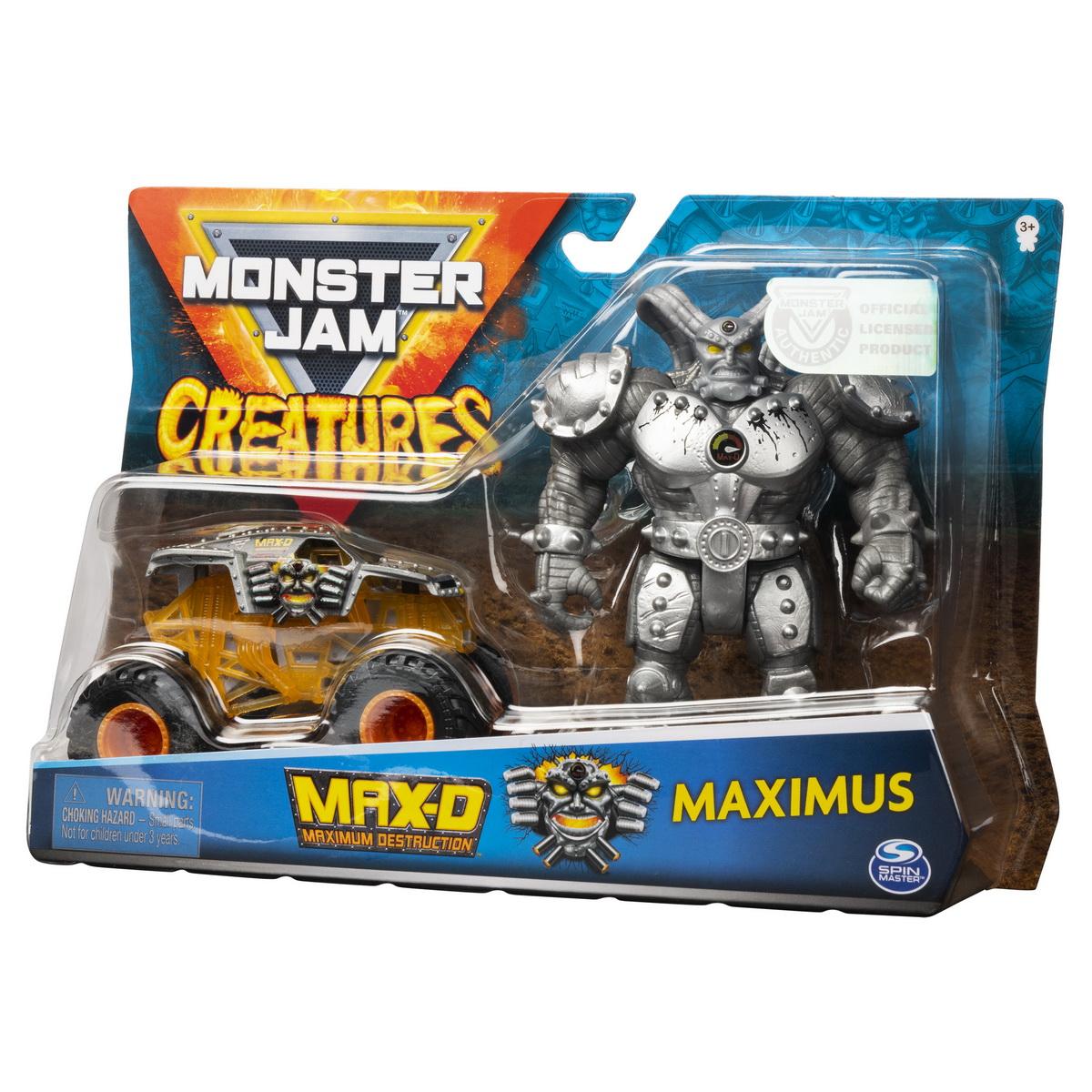 Monster Jam Macheta Max D Si Maximus