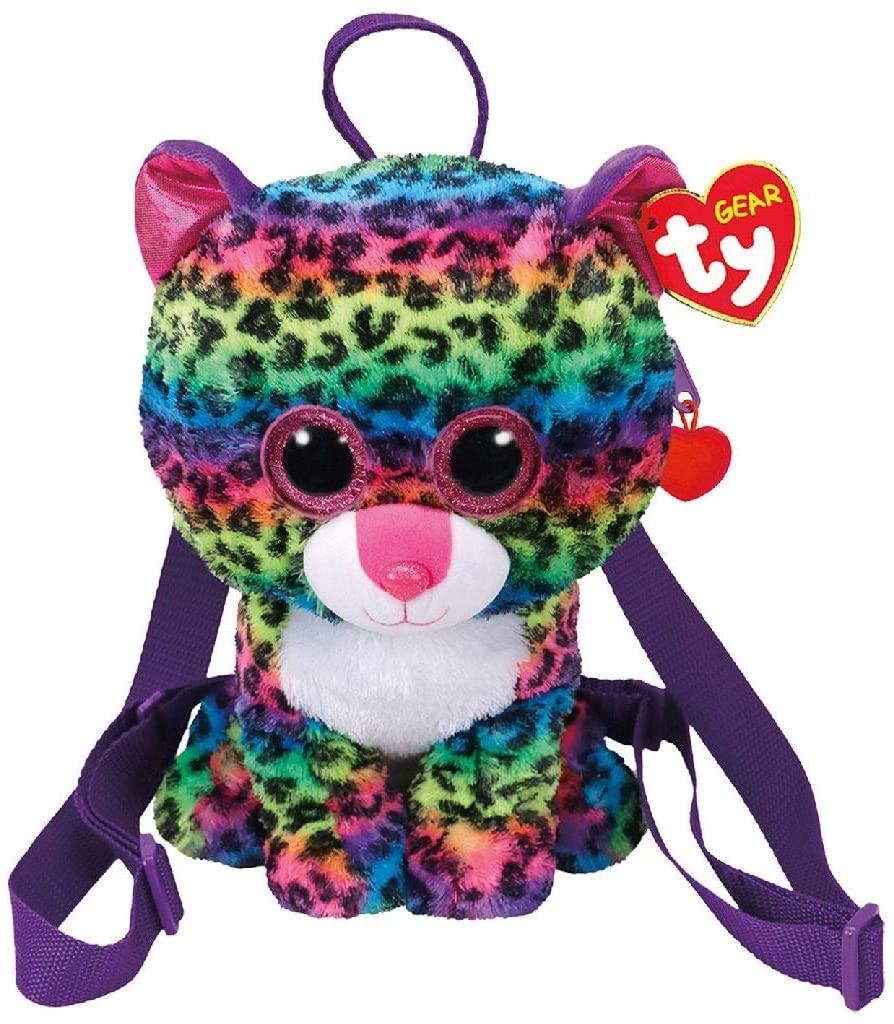 Rucsac De Plus Ty Dotty Leopardul Multicolor