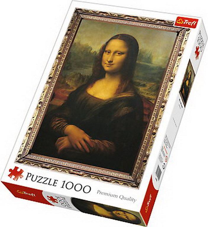 Puzzle Trefl 1000 Mona Lisa