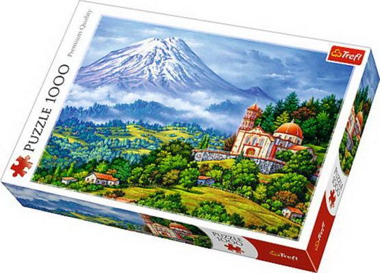Puzzle Trefl 1000 Peisaj Cu Vulcanul