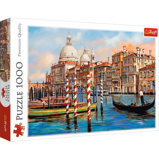 Puzzle Trefl 1000 O Zi La Venetia