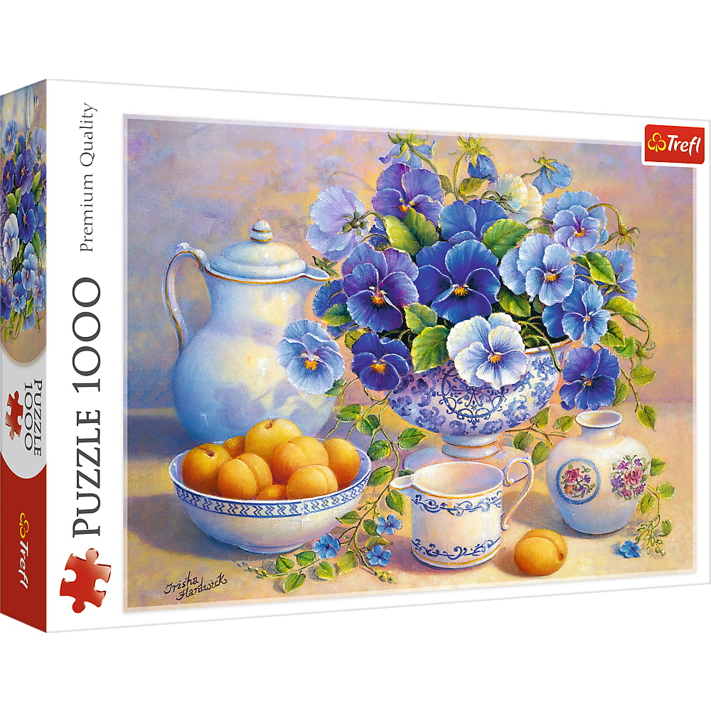 Puzzle Trefl 1000 Buchet Albastru