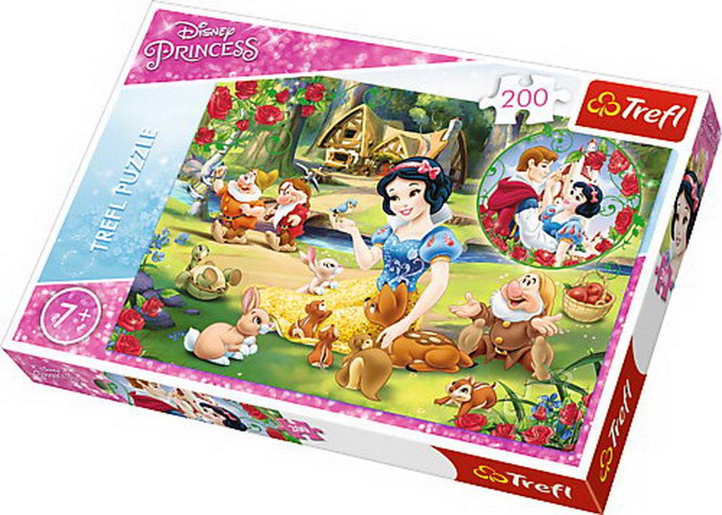 Puzzle Trefl 200 Alba Ca Zapada Visand La Dragoste
