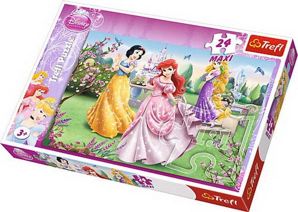 Puzzle Trefl 24 Maxi Printesele La Fantana
