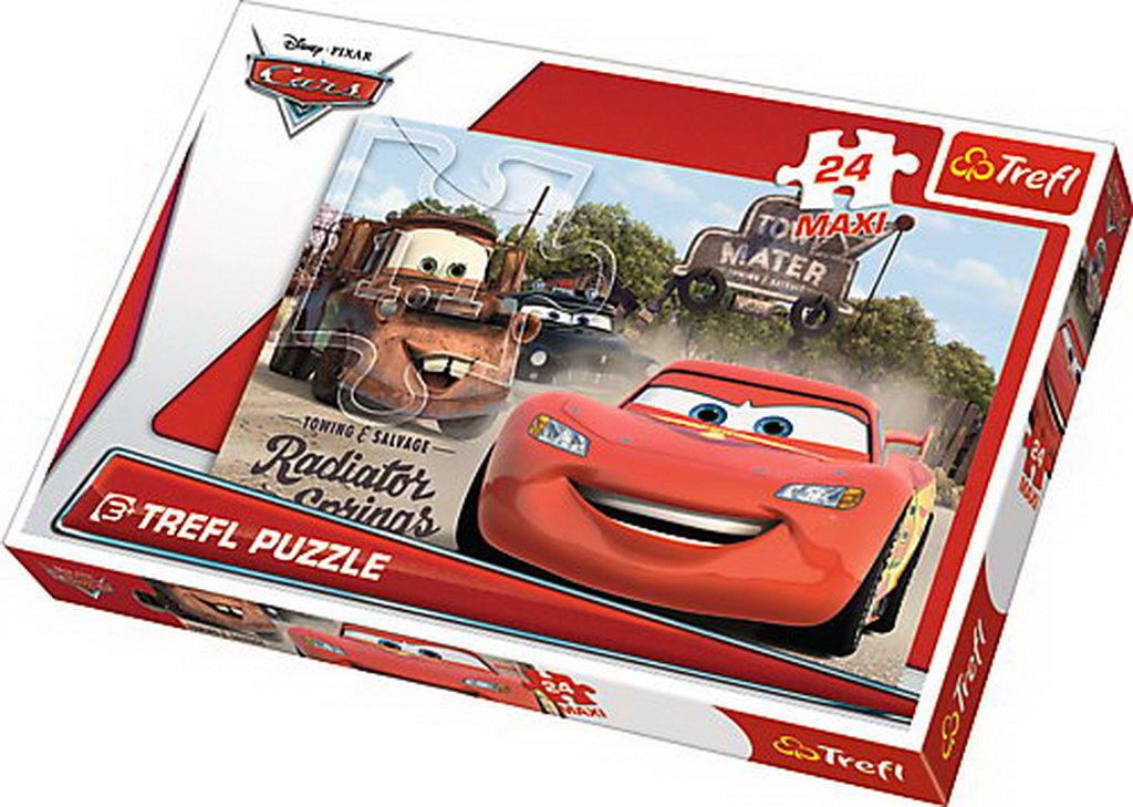 Puzzle Trefl 24 Maxi Cars2