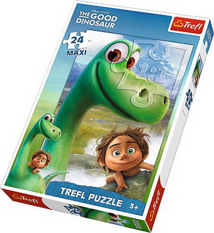 Puzzle Trefl 24 Maxi Arlo Si Bunul Dinozaur