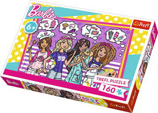 Puzzle Trefl 160 Viseaza Barbie