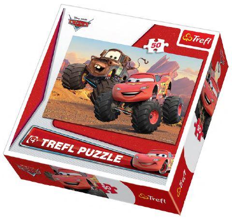 Puzzle Trefl 50 Cars