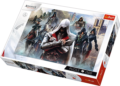 Puzzle Trefl 1500 Assasins Creed