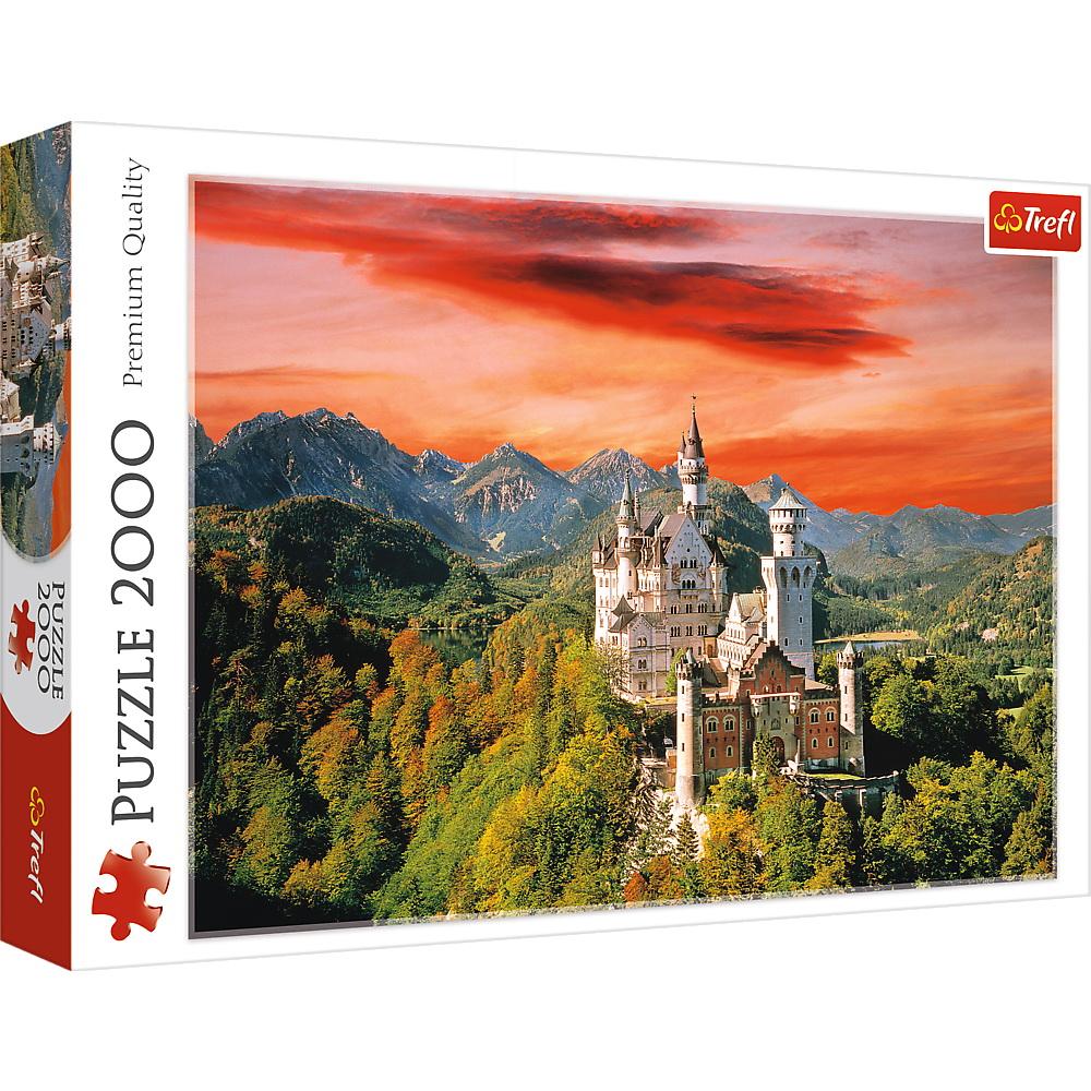 Puzzle Trefl 2000 Castelul Neuschwanstein