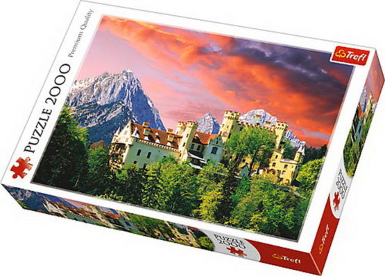 Puzzle Trefl 2000 Castelul Hohenschwangau Bavaria