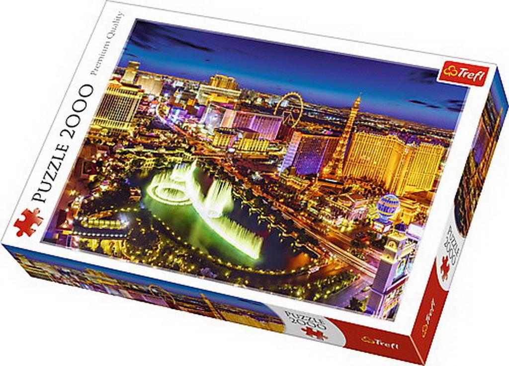 Puzzle Trefl 2000 Las Vegas Noaptea