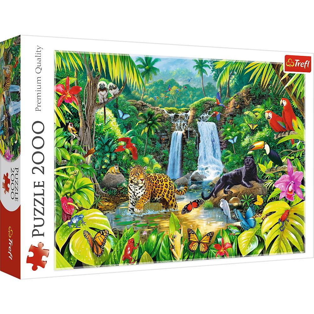 Puzzle Trefl 2000 Padurea Tropicala