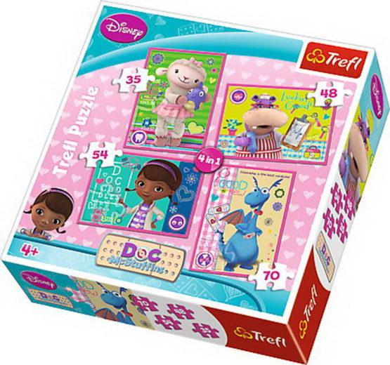 Puzzle Trefl 4in1 Doctorita Plusica