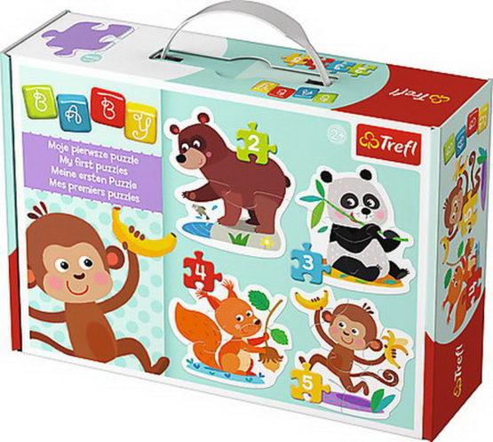 Puzzle Trefl Baby Clasic Animalute La Masa