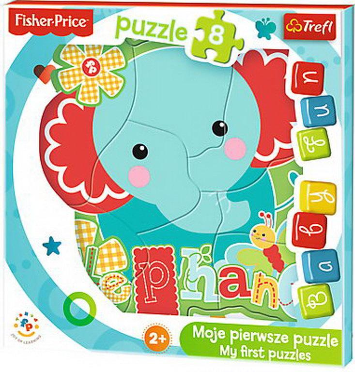 Puzzle Trefl Baby Fun Micutul Elefant