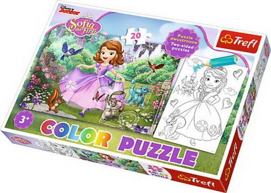 Puzzle Trefl Color 20 Sofia In Padure