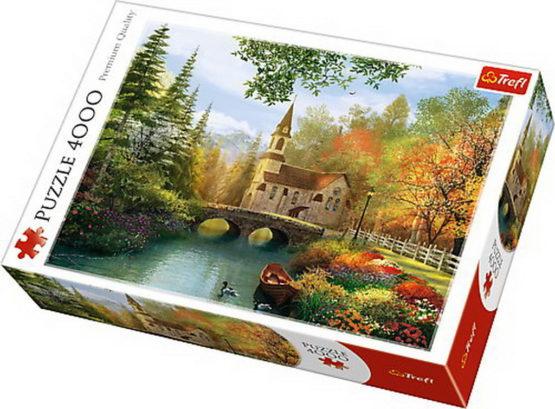 Puzzle Trefl 4000 Nostalgia Toamna