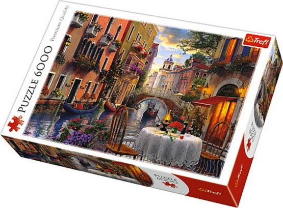 Puzzle Trefl 6000 Cina Romantica