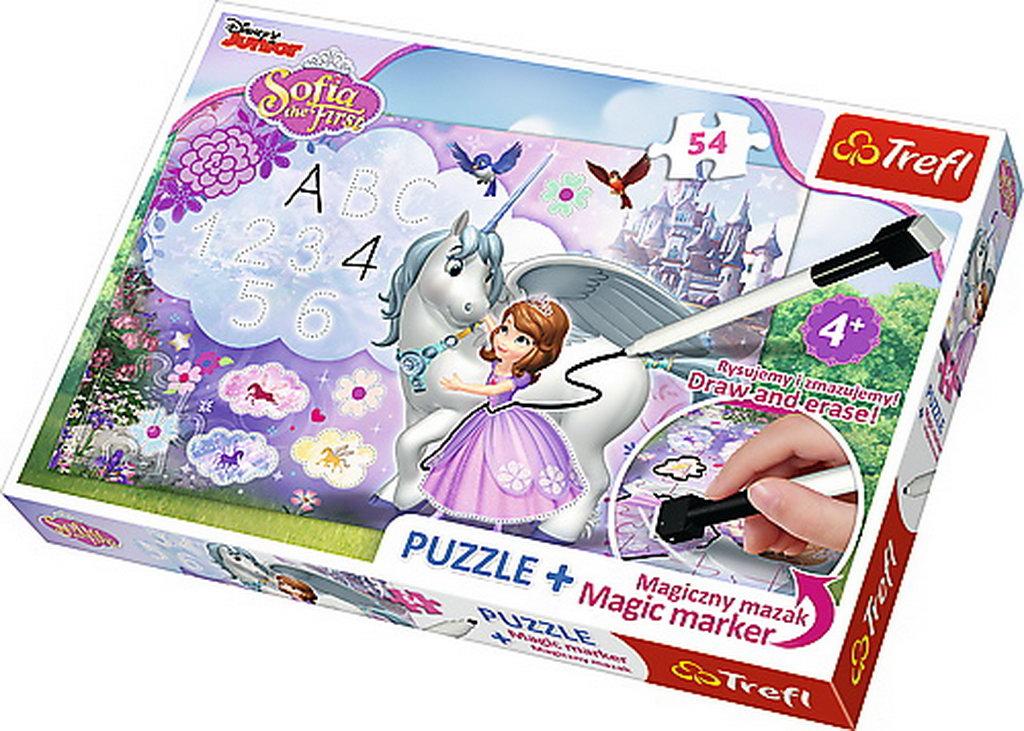 Puzzle Trefl 54 Plus Marker Sofia Intai