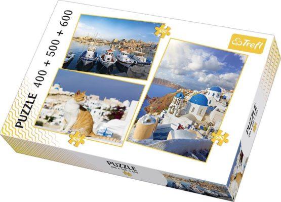 Puzzle Trefl 400 500 600 Frumoasa Grecie