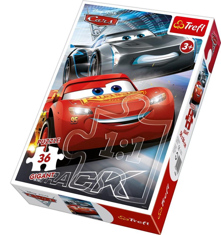 Puzzle Trefl Gigant 36 Cars3
