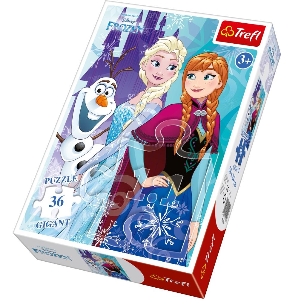 Puzzle Trefl Gigant 36 Frozen