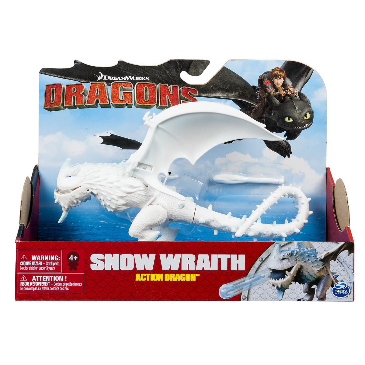 Dragon In Actiune Snow Wraith