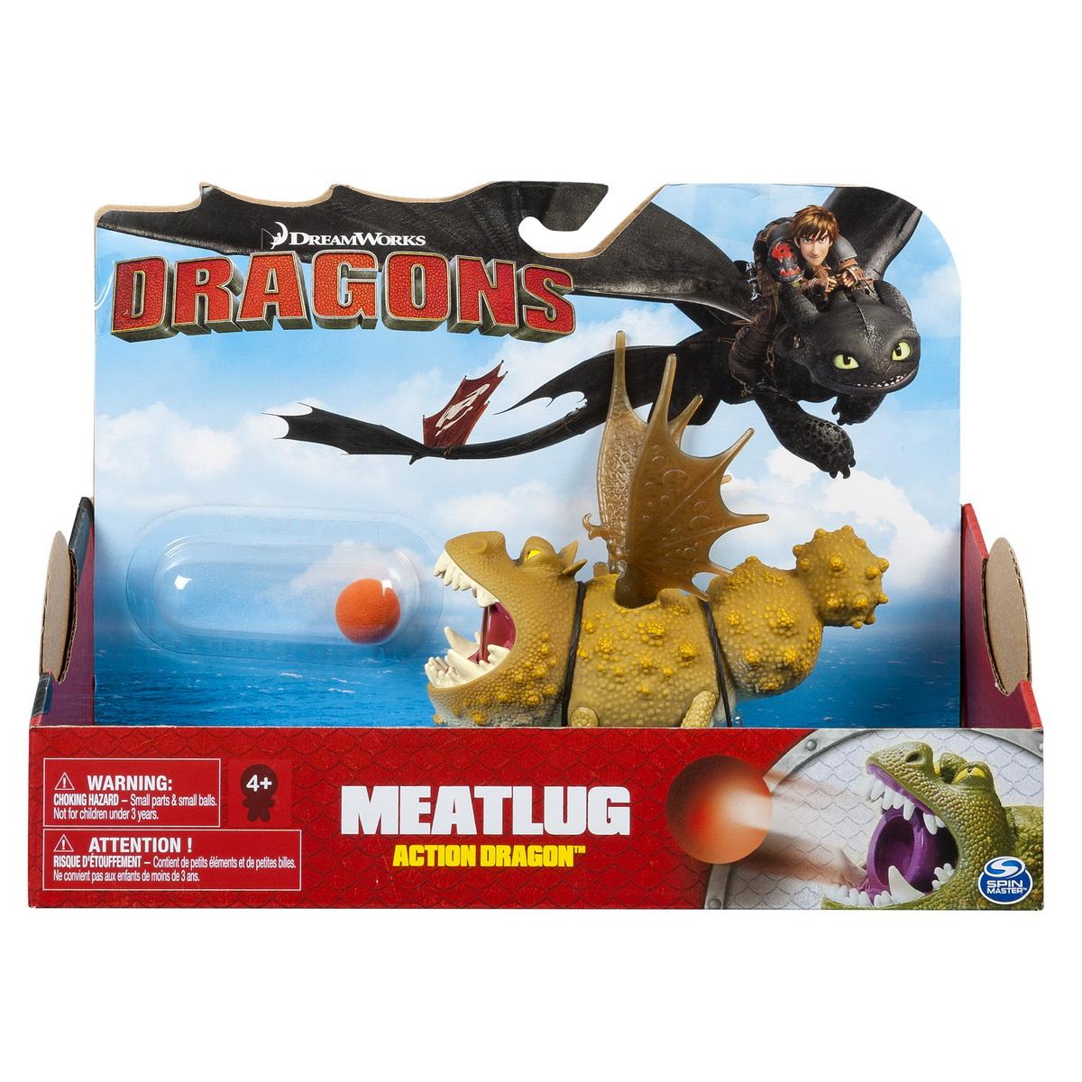 Dragon In Actiune Meatlug