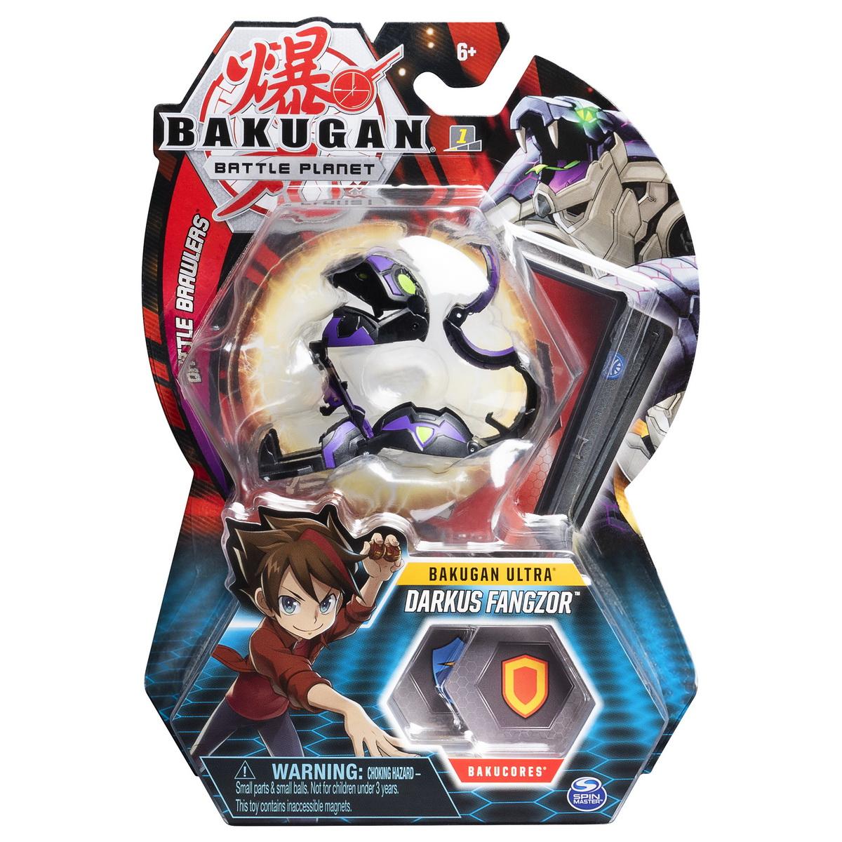 Bakugan Ultra Bila Darkus Fangzor
