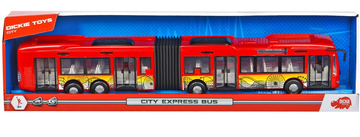 Dickie Autobuz Rosu City Express 46cm