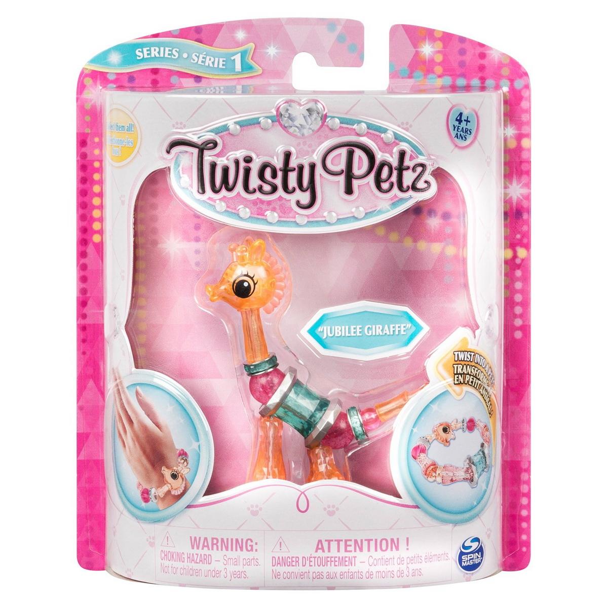 Twisty Petz Bratara Animalut Pentru Colectionat Girafa Jubilee